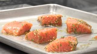 Garlic Herb Roasted Salmon With Chef Jim