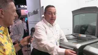 LG EasyLoad™ Dual Access Door Dryer - LG Highlights from CES 2014