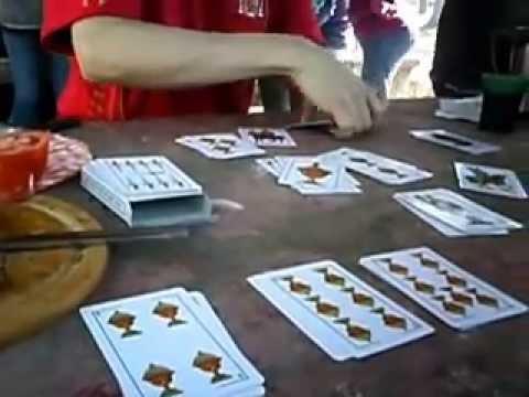 El Orden De Fuerza De Naipes En El Truco Truc Juego Cartas