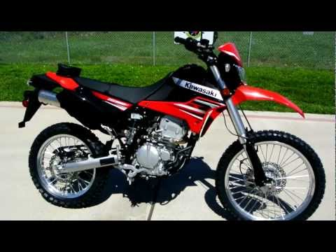 Overview and Review: 2012 Kawasaki KLX250S Dual Purpose, Str