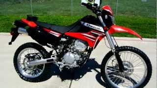 Overview and Review: 2012 Kawasaki KLX250S Dual Purpose, Street Legal Dirt Bike