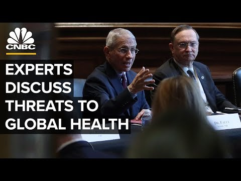 Experts discuss health threats and biosecurity amid coronavirus outbreak– 2/18/2020