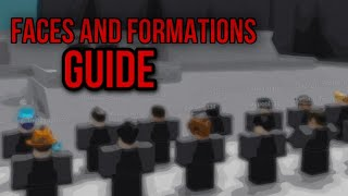 Military Faces and Formations Guide[By Project Zorgo - Roblox]