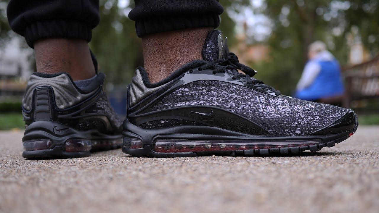 5ee52d8b0f Overrated? Skepta x Nike Air Max Deluxe 'Sk' Review & On Feet - YouTube