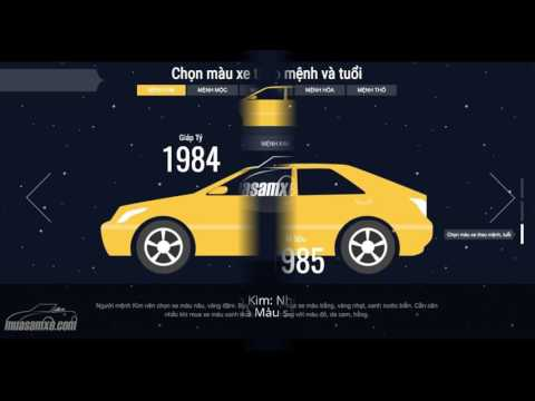 Cách chọn màu xe theo phong thuỷ hợp mệnh và tuổi của chủ xe