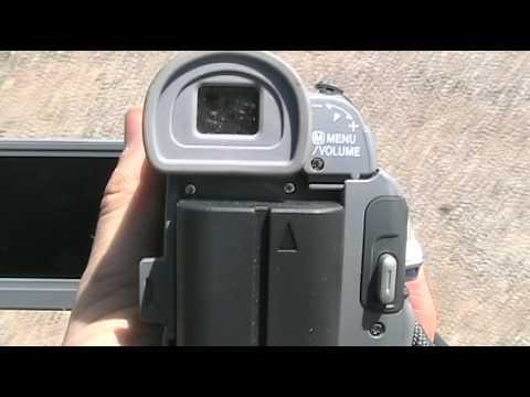 JVC GR-D90U Mini-DV Camcorder Gone Bad