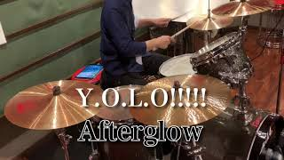 【Y.O.L.O!!!!!】full Ver.Drum Cover【Afterglow】【叩いてみた】【BanG Dream!】【アツくなってみた】