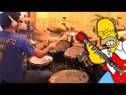 Vadrum Meets The Simpsons (Drum Video)
