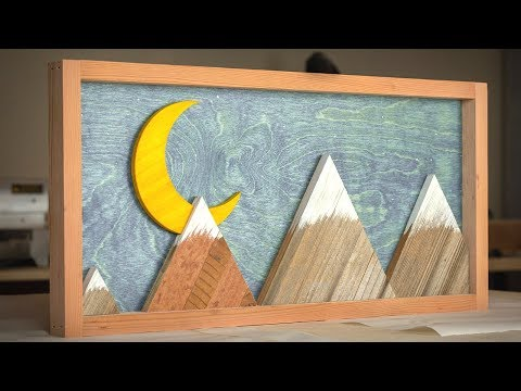 The 30 And 45 Degree Rules / Making Wood Mountainscapes