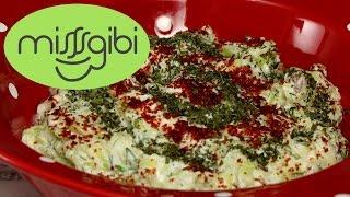 Yoğurtlu Kabak Salatası - Yoğurtlu Diyet Salata Tarifi