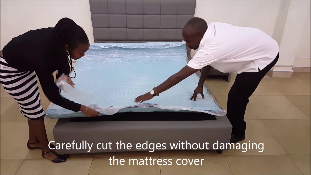 unpacking dr mattress milelesafi mattress youtube