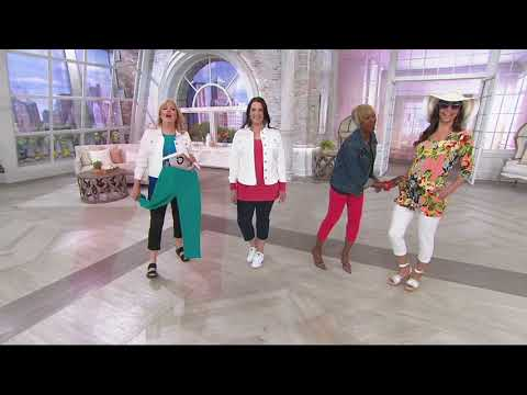 Wicked by Women with Control Pull-On Crop Pants on QVC