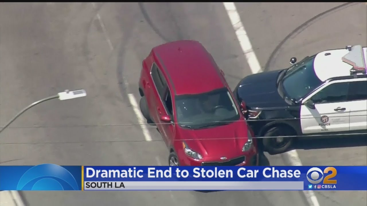 3 People Hospitalized After Police Pursuit Ends With Epic PIT Maneuver