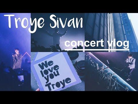 Troye Sivan Blue Neighborhood Tour Concert Vlog (Chicago 2.23.16)    Lauren McDowell