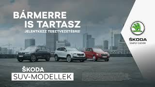 A teljes ŠKODA SUV kínálat!