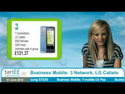 Business Mobile: 3 Network, LG Calisto