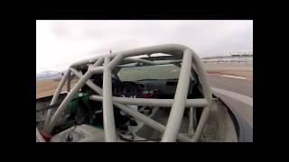 S2000 AP2 Race Shake Down Miller Motorsports Park Winter Cross Trunk Cam 02-18-12