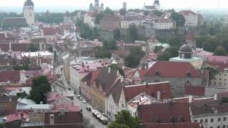Tallinn City Views and Tallinn from above, Estonia