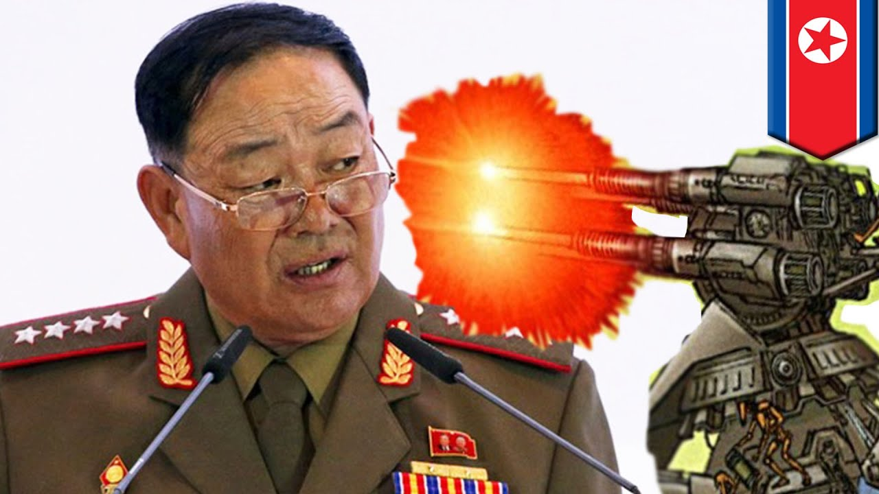 Kim Jong-un ordered to shoot the dozing off minister of the armed forces 05/13/2015 44