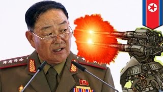 Anti-aircraft gun execution: North Korean Defence Minister
