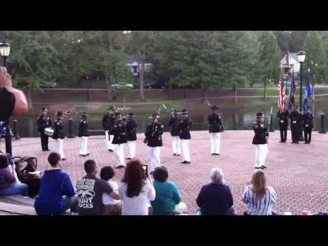 Spartanburg County Drill Team 9-26-13