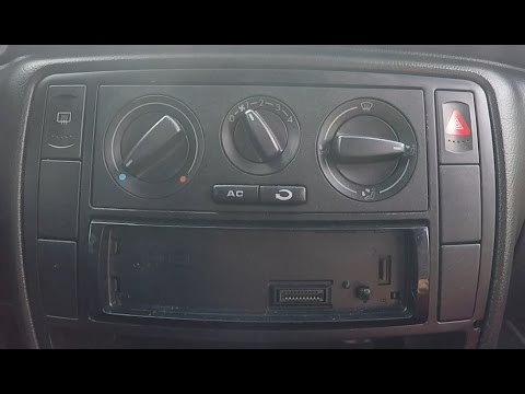 how to replace burned out bulb from air conditioning backlight rh youtube com vw passat b5 manual service vw passat b5 repair manual