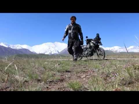Kawasaki KLR650 vs. Big Bike when traveling Solo around the world