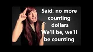 Repeat youtube video Christina Grimmie - Counting Stars Lyrics (One Republic)