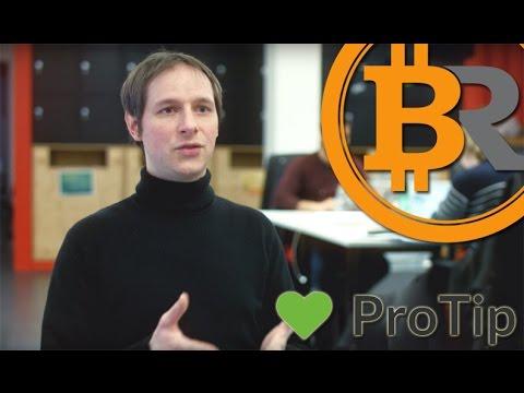 Chris Ellis (Protip) - Bitcoin could replace advertisements