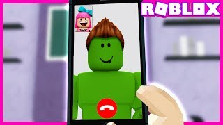 CALLING MY FRIEND INSIDE the ROBLOX!!! (VIDEO CALL)