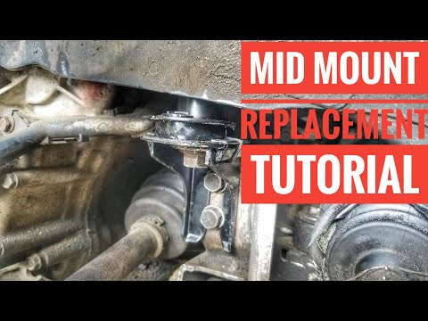 HOW TO REPLACE 2004-2008 ACURA TSX TL MID MOUNT TUTORIAL