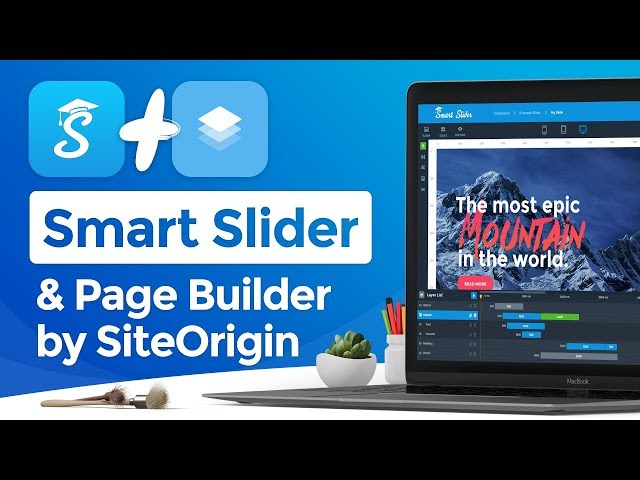 Smart Slider 3.3 & Page Builder by SiteOrigin - How to create sliders for Page Builder by SiteOrigin