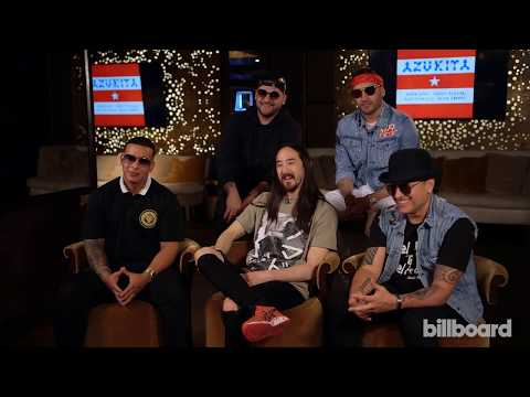 Steve Aoki, Daddy Yankee, Play-N-Skillz & Elvis Crespo Talk Collaborative Track