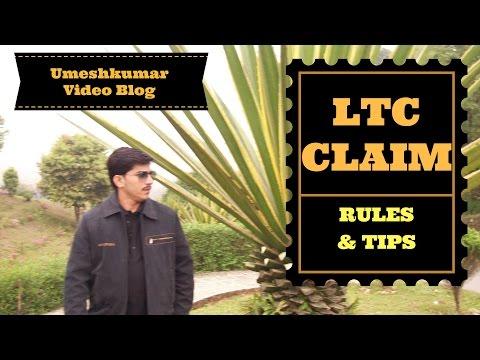 LTC RULES & TIPS BY UMESHKUMAR V BLOG