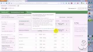Google Keyword Planner Anleitung