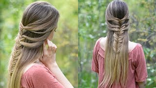 Fishtail Hack | Mermaid Braid Hack | Cute Girls Hairstyles