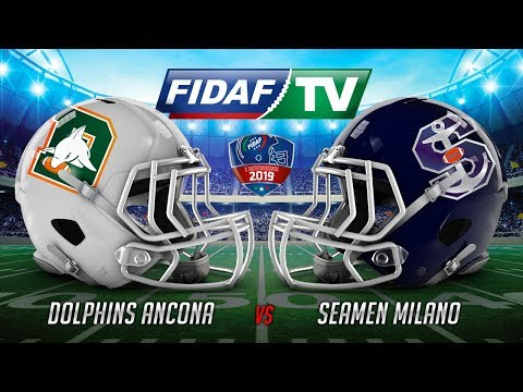 Dolphins Ancona vs Seamen Milano