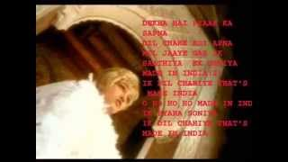 Made in india ( Album Made In India ) Karaoke with lyrics by Hawwa -
