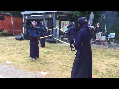 Kendo Vorführung Kendo