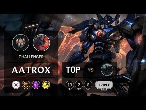 Aatrox Top vs Mordekaiser - KR Challenger Patch 9.15