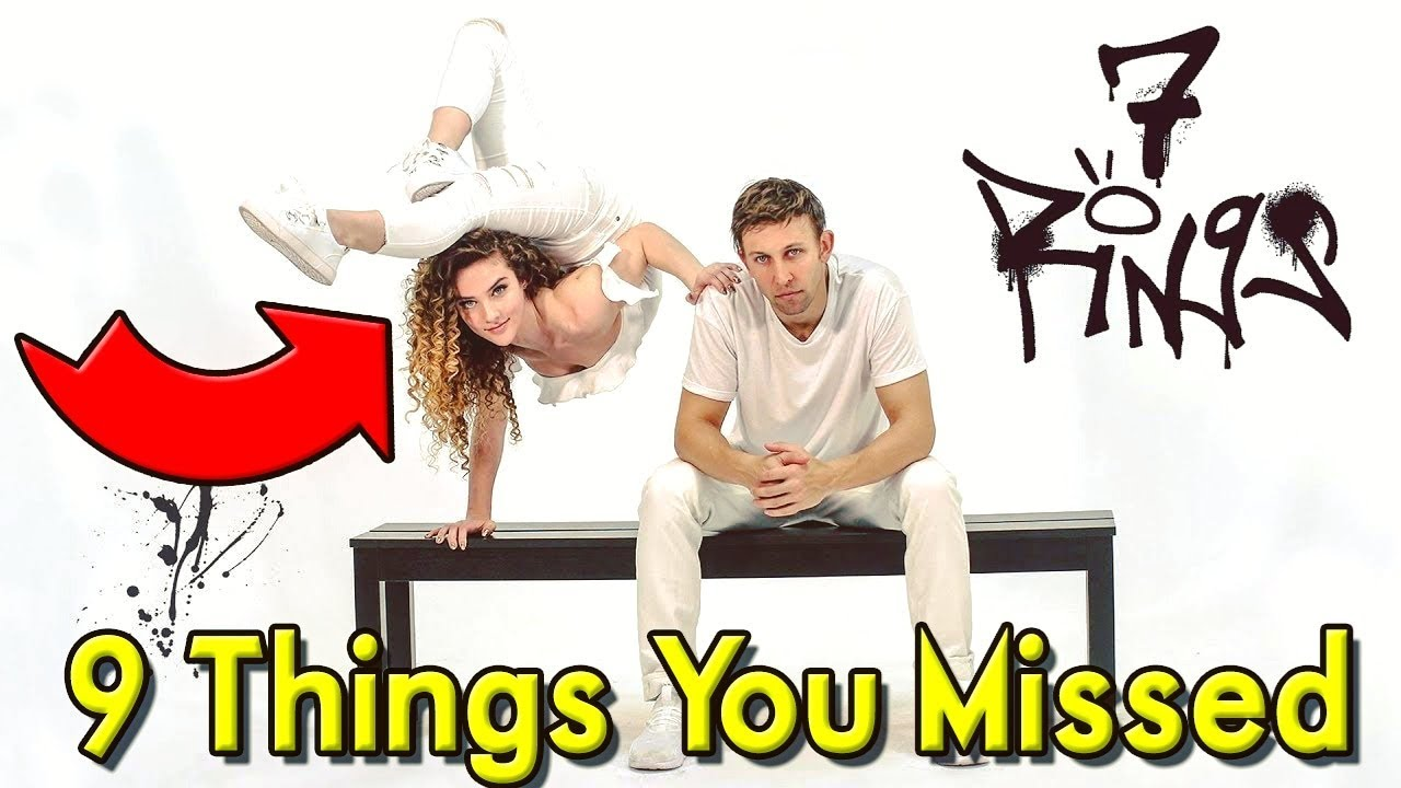 🤸 Sofie Dossi 7 RINGS Top 9 Things YOU MISSED! 🤸 image