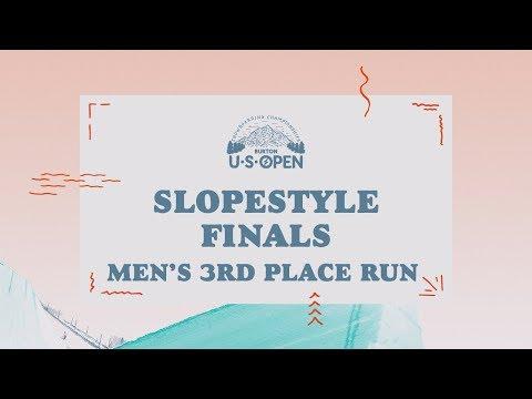 2018 Burton U·S·Open Men's Slopestyle Finals – Marcus Kleveland's 3rd Place Run