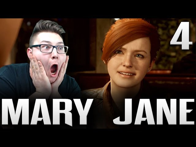 MARY JANE AND STAN LEE REACTION! | SPIDER-MAN PS4 Gameplay Reaction Part 4 (Marvels Spider-Man)