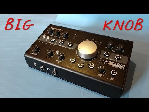 Z Review - Mackie Big Knob Interface Headphone Amp Mixer Lightshow Generator.exe