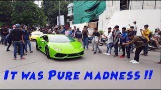 Leaving a Car meet in a Lamborghini Huracan | It was Crazyy !!