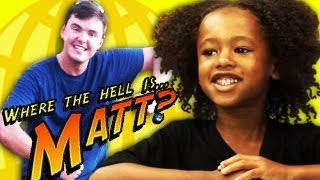 KIDS REACT TO WHERE IS MATT?