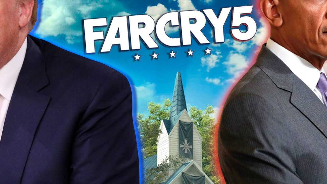Two Presidents Play: FAR CRY 5!