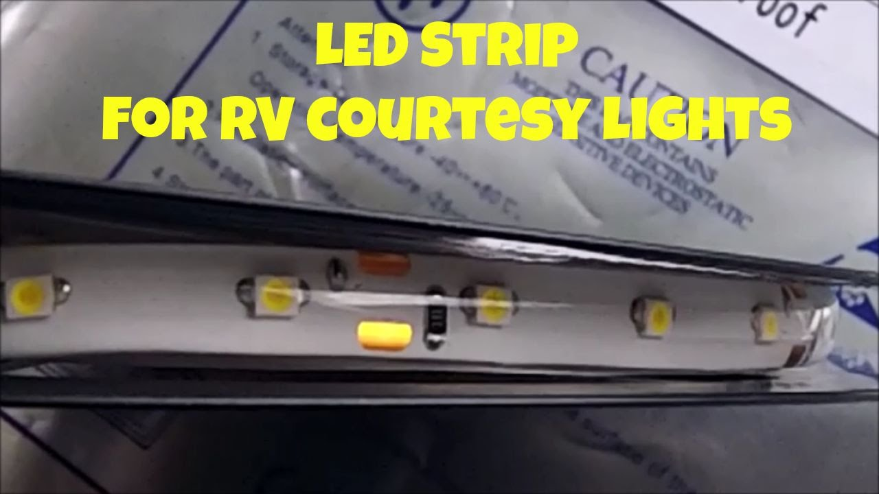 hight resolution of led strip for courtesy light in 93 monaco dynasty motorhome youtube rv monaco dynasty wiring diagram