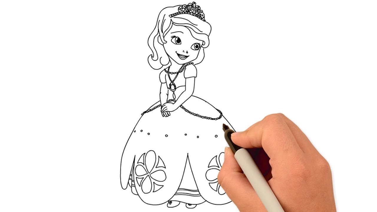 How To Draw A Cute Girl Draw For Kids Art Drawing Tutorial