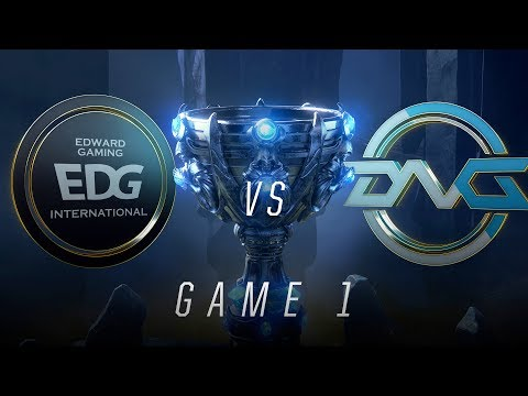 EDG vs DFM | Play-In Knockouts | 2018 World Championship | EDG vs DFM (2018)
